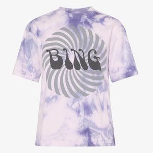 Purple vintage Anine Bing tee